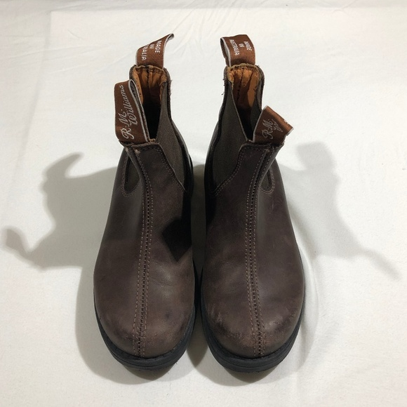 Rm Williams Greasy Kip Leather Chelsea